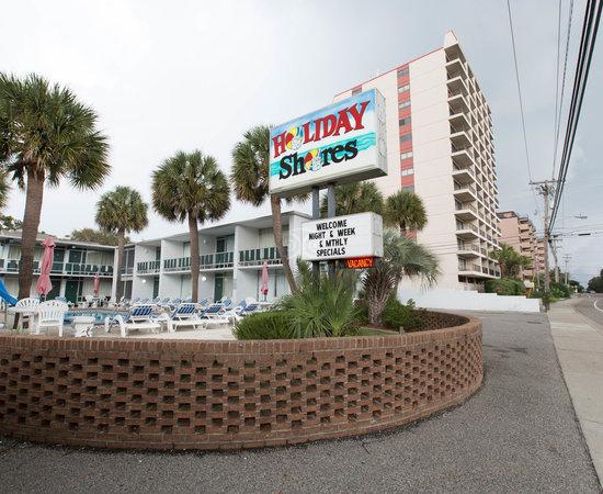 Holiday Shores Motel Oceana Resorts Myrtle Beach Sc