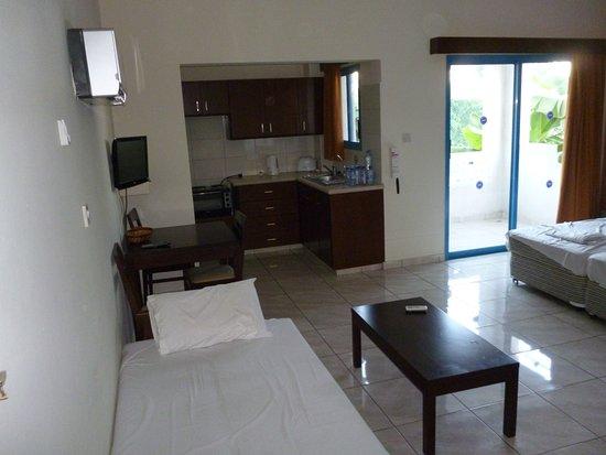 Kefalonitis Hotel Apts.: Room from Doorway