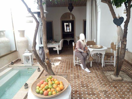 Riad les Orangers d'Alilia Marrakech: Le patio