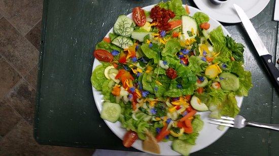 """Agness, OR: divine """"garden salad"""""""