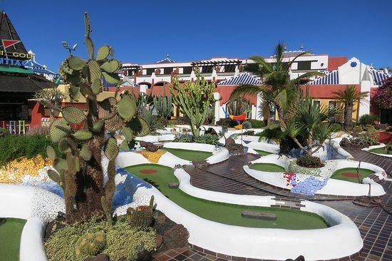 Minigolf Parque Santiago