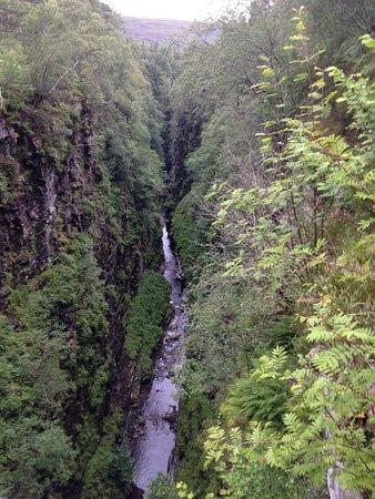 Corrieshalloch Gorge Aufnahme