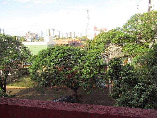 Foz Plaza Hotel: vista do Ap.