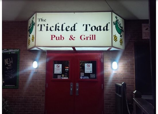 The Tickled Toad