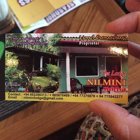 Nilmini Lodge: photo0.jpg