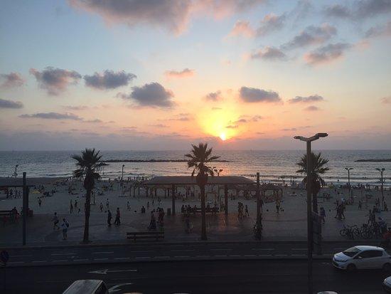 Dan Tel Aviv Hotel: view from executive lounge
