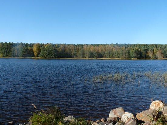 Lappajarvi, Finlandia: Näkymä Kivitipun ulkoilumaastosta