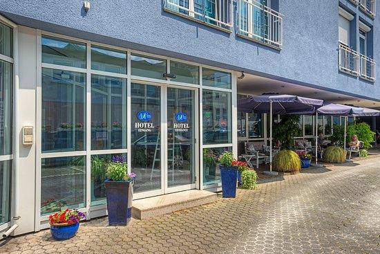 Paulin Hotel: Außenbereich