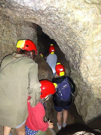 Gemmano, Italia: Dentro la grotta