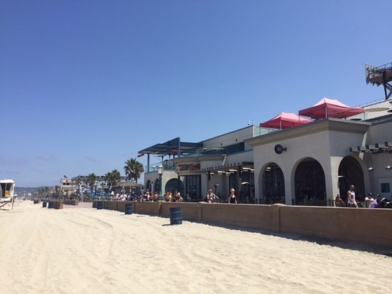 Mission beach boardwalk - Picture of Mission Beach ...