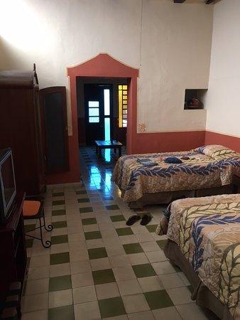 Luz En Yucatan: The bedroom (one full, one twin)