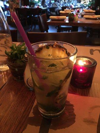 Lulu: Coconut Grove mojito (tastes like juice with a kick)
