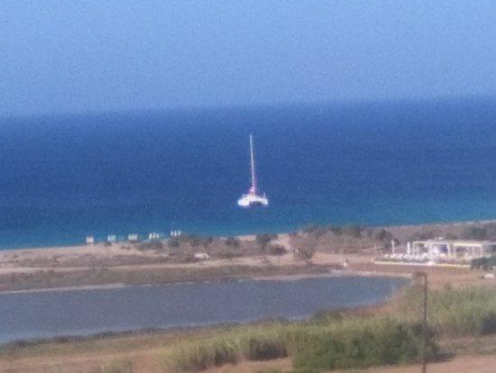 Άγιος Προκόπιος, Ελλάδα: vista dalla terrazza ristorante