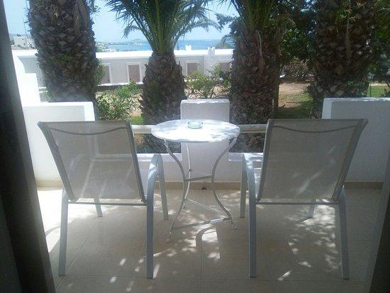 Άγιος Προκόπιος, Ελλάδα: vista dalla mia camera