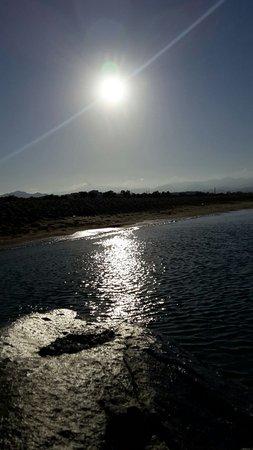 Agios Prokopios, Grecia: che tramonto sul mare!!!