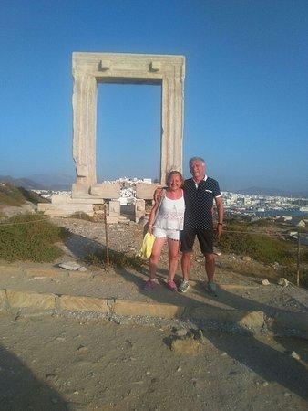 Agios Prokopios, Grecia: Portale di Apollo a Cora la capitale di Naxos
