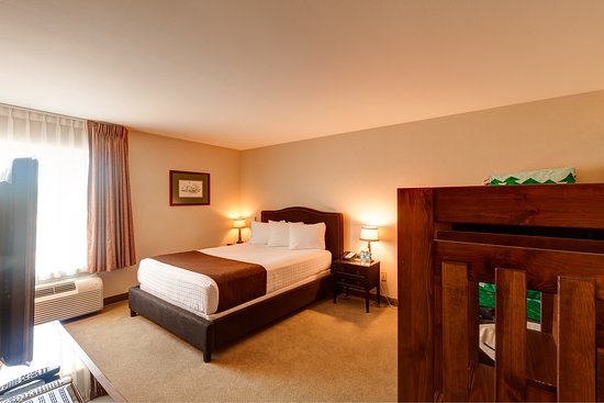 "Boothill Inn & Suites: The family suite has an x-box in the ""kids"" room with family friendly games."