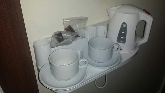 Victoria Inn: Kávový set na pokoji