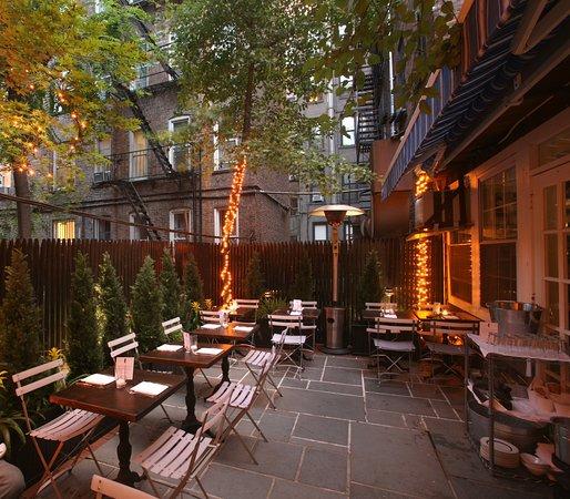 Great Outdoor Dining In The East Village Mermaid Inn