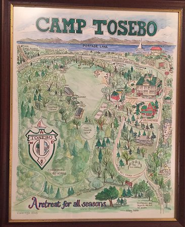 Camp Tosebo: Great map of the camp!