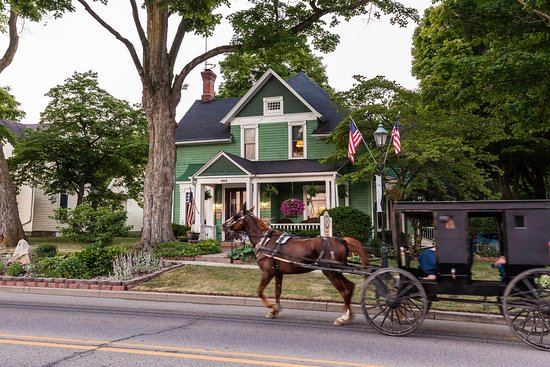 Country Victorian Bed and Breakfast: Amish Buggy