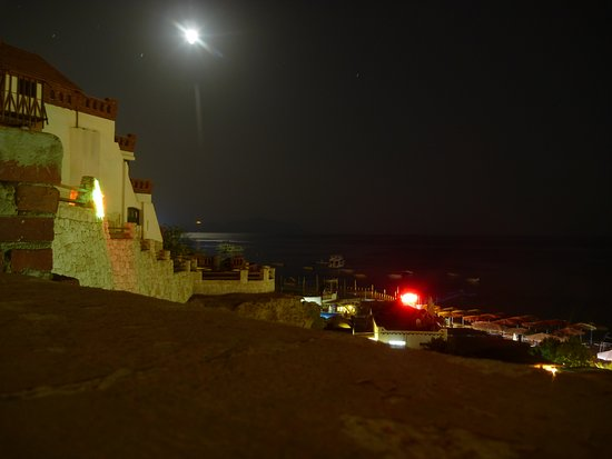 Sharks Bay Umbi Diving Village: The view's just as good at night!
