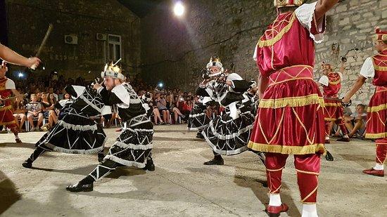 Moreska Sword Dancing