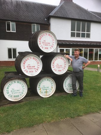 East Harling, UK: Fantastic tour, lovely whiskey and friendly helpful staff