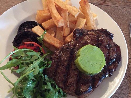 Cuckfield, UK: Steak