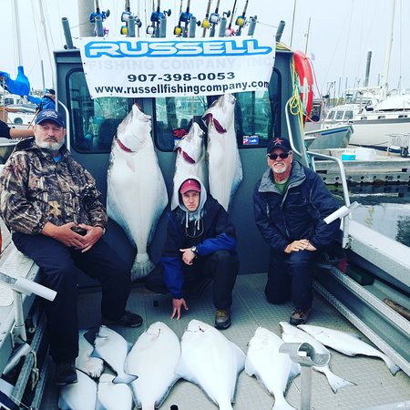 Russell Fishing Company : Our successful halibut trip