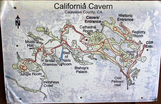 California Caverns: California Cavern