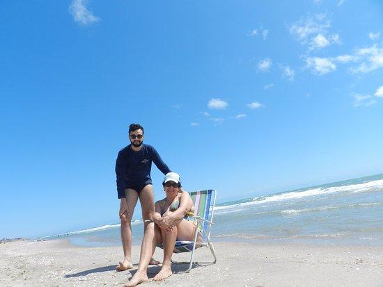 Areia Branca, RN: praia de tibau