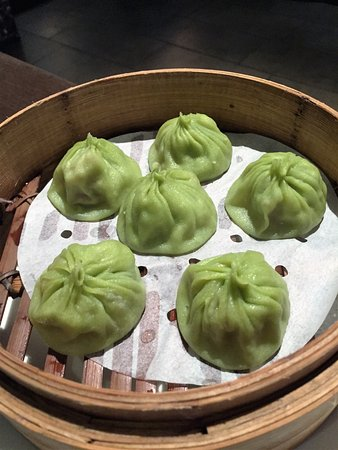 Asian Legend: Steamed Soup Filled Dumplings with Dried Scallops, Pork & Luffa