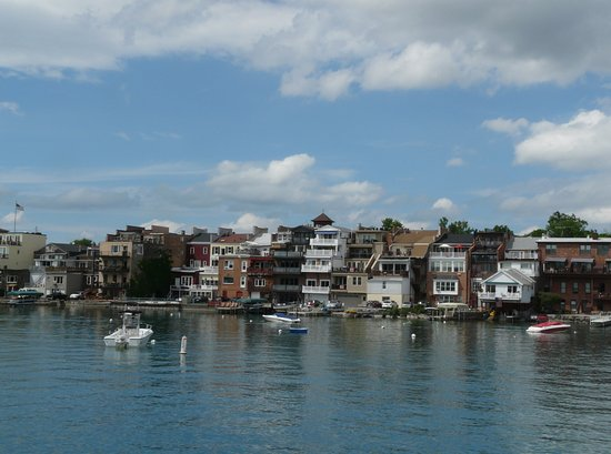 Skaneateles from the boat