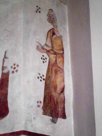 Dekanatskirche: Peinture ancienne restaurée