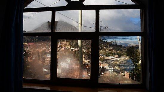 Hotel La Cupula: Vista do quarto, pela manhã