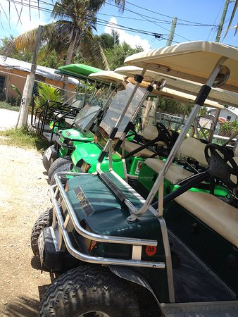 Gavilan's Golff Cart