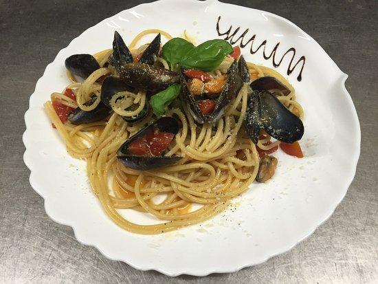 Abano Terme, Italia: Spaghetti Ostia Antica