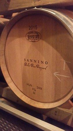 Sannino Bella Vita Vineyard: We had a ton of fun!!!!!