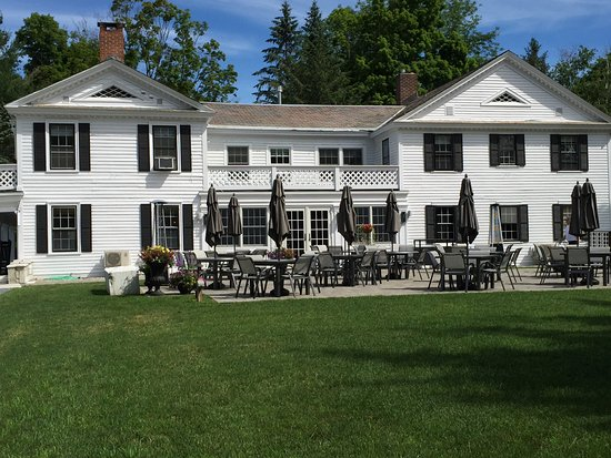 Dorset, VT: Main Inn with dining terrace