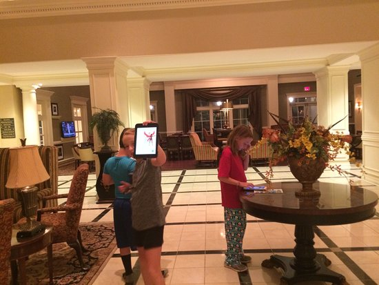 Hampton Inn Vicksburg: Great time playing Pokemon Go @ the hotel!