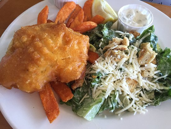 Rock Cod Cafe : Halibut