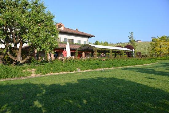 Agriturismo Barac: Blick auf die Terrasse