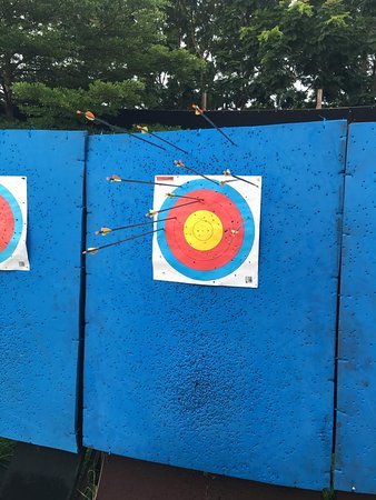 Cha-am, Thailand: Archery