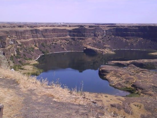Odessa, Waszyngton: Dry Falls. One of our many stops on our tours.