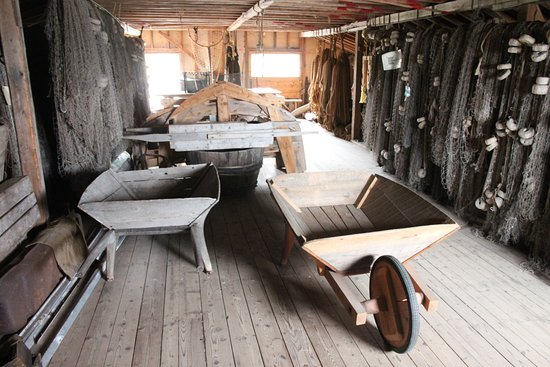 See cool things on the second floor of the boat/fishing house on the ...