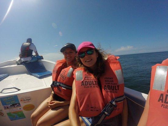 Zuma Tours: dans le bateau en route pour Tortuga Island