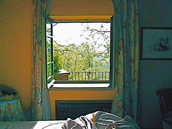 Borgo Paraelios: view from our room