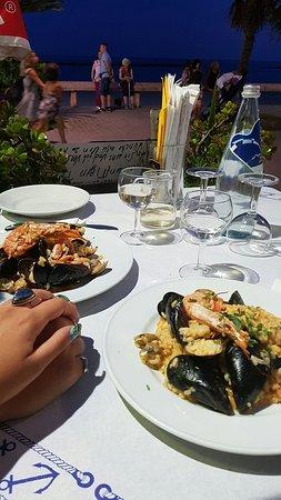 Cena sul mare - Picture of Bar Ristorante La Terrazza, San ...