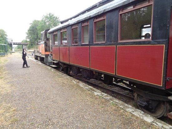 Pacy-sur-Eure, Франция: un des 3 wagons